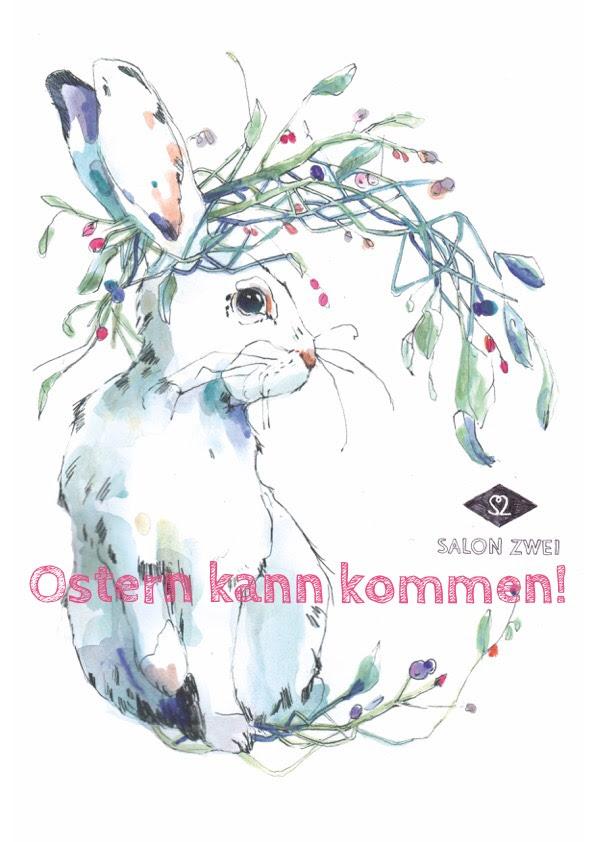 Hase gezeichnet von Anja Noack