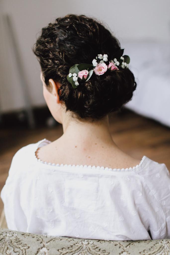 Wunderschöne Brautfrisur von Salon Zwei