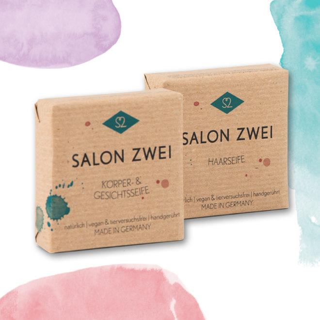 Salon Zwei Seifen Duo