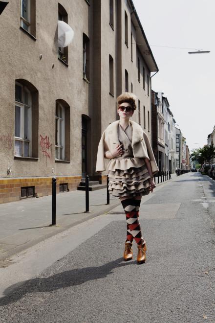Editorial Make Up und Styling by Salon Zwei für Le Bloc Köln