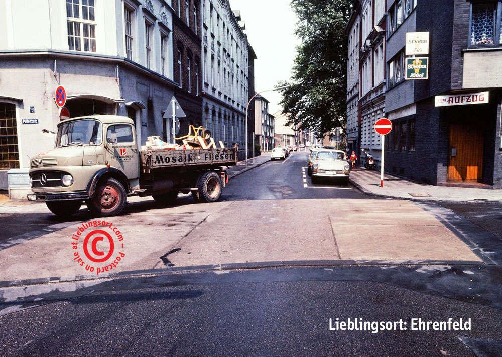 Postkarte Gutenbergstrasse
