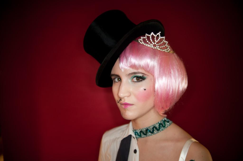 Karnevals Make Up von Salon Zwei für Stadtrevue Köln