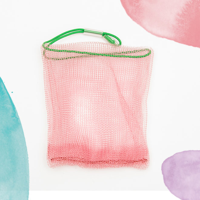 Salon Zwei Seifensäckchen pink