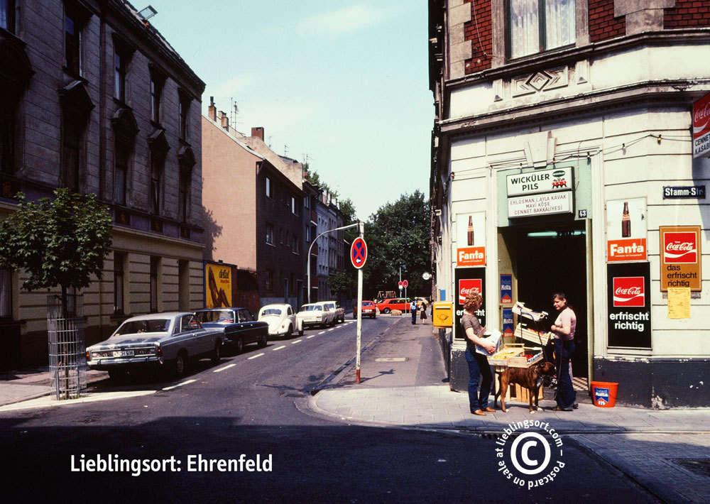 Postkarte Stammstraße, Köln-Ehrenfeld